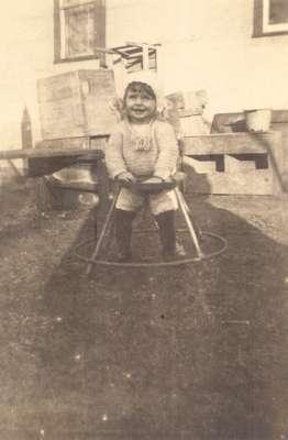 Infant in Walker