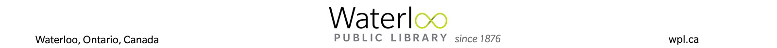 Waterloo Public Library Digital Collection