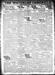 Waterloo Chronicle (Waterloo, On1868), 12 Jan 1933