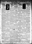 Waterloo Chronicle (Waterloo, On1868), 16 Nov 1933