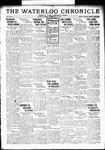 Waterloo Chronicle (Waterloo, On1868), 10 May 1934