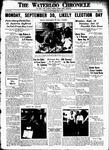 Waterloo Chronicle (Waterloo, On1868), 15 Aug 1935