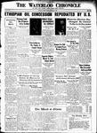 Waterloo Chronicle (Waterloo, On1868), 5 Sep 1935