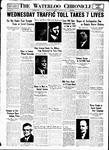 Waterloo Chronicle (Waterloo, On1868), 19 Nov 1937