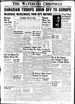 Waterloo Chronicle (Waterloo, On1868), 8 Dec 1939