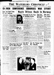 Waterloo Chronicle (Waterloo, On1868), 3 May 1940