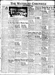 Waterloo Chronicle (Waterloo, On1868), 13 May 1949