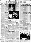 Waterloo Chronicle (Waterloo, On1868), 27 May 1949