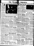 Waterloo Chronicle (Waterloo, On1868), 25 Nov 1949