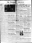 Waterloo Chronicle (Waterloo, On1868), 8 Dec 1950