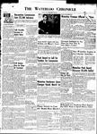 Waterloo Chronicle (Waterloo, On1868), 29 Feb 1952