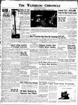 Waterloo Chronicle (Waterloo, On1868), 25 Apr 1952