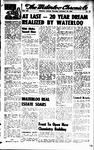 Waterloo Chronicle (Waterloo, On1868), 20 Nov 1958