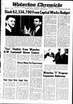 Waterloo Chronicle (Waterloo, On1868), 25 Jan 1967