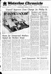 Waterloo Chronicle (Waterloo, On1868), 3 May 1967