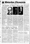 Waterloo Chronicle (Waterloo, On1868), 24 May 1967