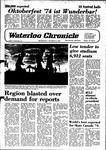 Waterloo Chronicle (Waterloo, On1868), 9 Oct 1974