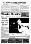 Waterloo Chronicle (Waterloo, On1868), 15 May 1985