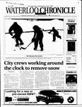 Waterloo Chronicle (Waterloo, On1868), 10 Jan 2001