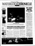 Waterloo Chronicle (Waterloo, On1868), 4 Apr 2001