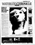 Waterloo Chronicle (Waterloo, On1868), 18 Apr 2001