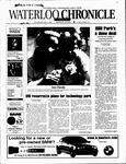 Waterloo Chronicle (Waterloo, On1868), 9 May 2001