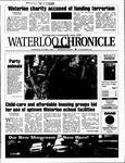 Waterloo Chronicle (Waterloo, On1868), 3 Oct 2001