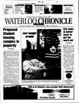 Waterloo Chronicle (Waterloo, On1868), 7 Nov 2001