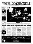 Waterloo Chronicle (Waterloo, On1868), 13 Mar 2002