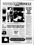 Waterloo Chronicle (Waterloo, On1868), 22 May 2002