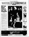 Waterloo Chronicle (Waterloo, On1868), 21 May 2003