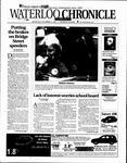 Waterloo Chronicle17 Sep 2003