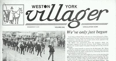 Weston York Villager