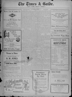 Times & Guide (Weston, Ontario), 18 Dec 1918