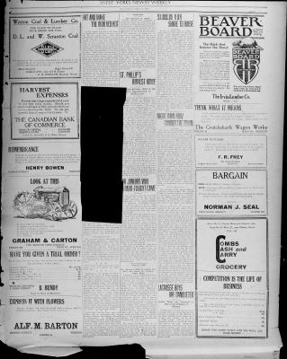 Times & Guide (Weston, Ontario), 29 Sep 1920