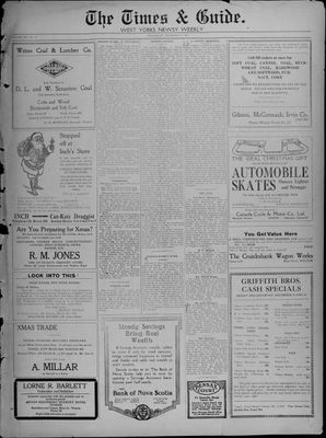 Times & Guide (Weston, Ontario), 11 Dec 1918