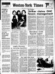 Weston-York Times (1971), 7 Jan 1971