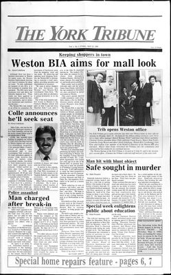York Tribune (19880422), 22 Apr 1988