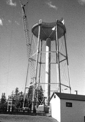 Kinsmen Park Water Tower Demolition, 1979