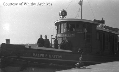 Ralph E. Matton Tug, October 19, 1938