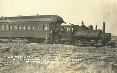 Train, Military Convalescent Hospital, 1918