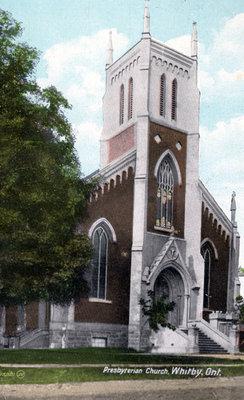 St. Andrew's Presbyterian Church (Whitby), 1908