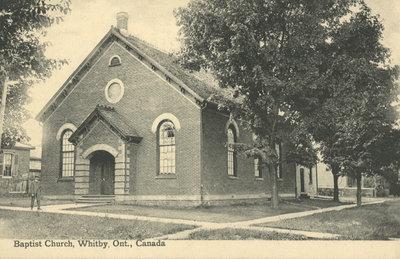 Whitby Baptist Church, c.1910
