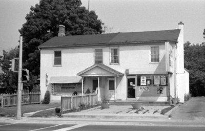 Former Bennett's Tavern, July 1975