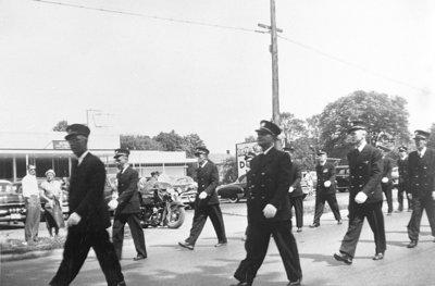 Whitby Centennial Parade, 1955