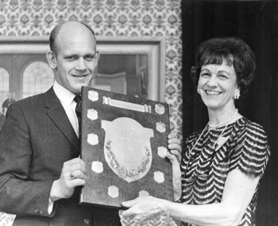 Peter Perry Award Presentation, 1969