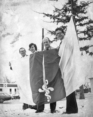 Flag Raising, 1974