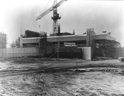 Dr. J.O. Ruddy General Hospital Construction, 1968