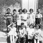 Sinclair School Grade 1 Class, 1954