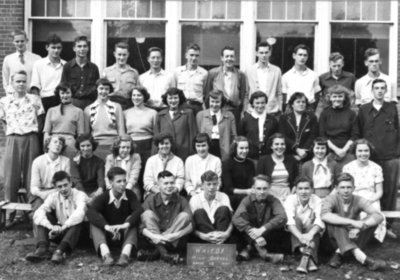 Whitby High School Grade 12 Class, 1950